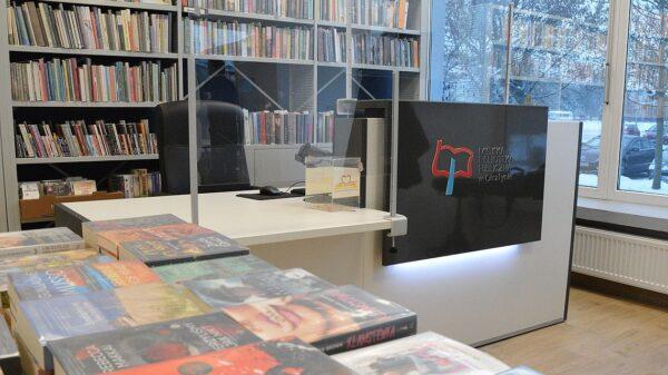 Biblioteka olsztyńskim Zatorzu