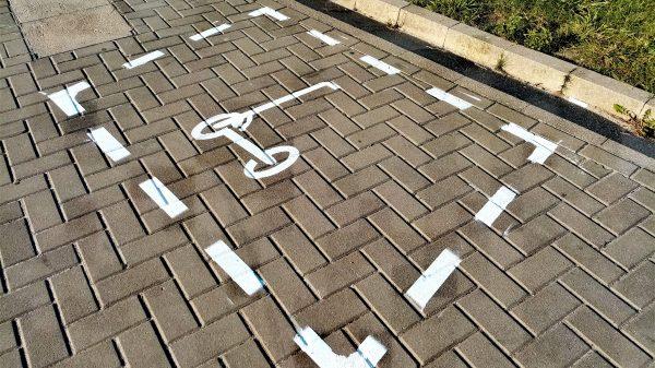 parkingi dla hulajnóg