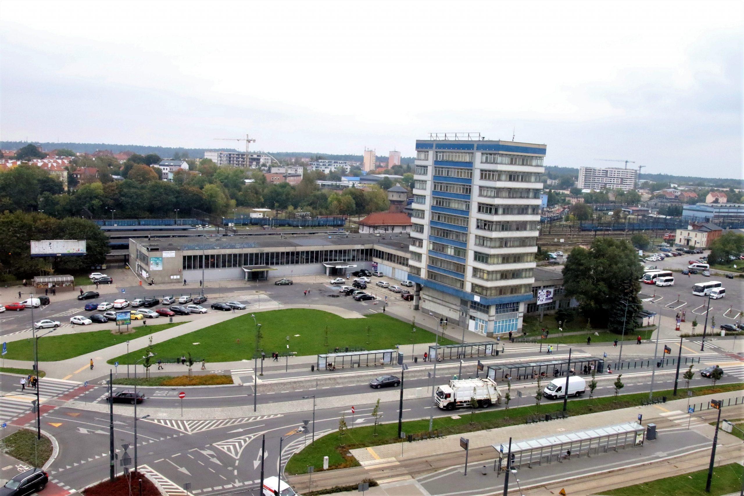 dworca olsztyn główny